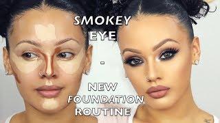 Smokey Eye / New Foundation Routine | Viva_Glam_Kay
