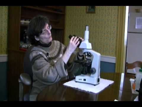 MICROSCOPE - ASSEMBLE & SET-UP (part 1) - INTRODUCTION TO SOIL MICROBIOLOGY by Dr. Elaine Ingham