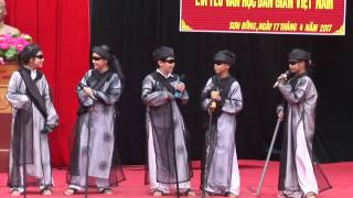 Kịch ngắn: Thầy bói xem Voi - HS trường THCS Sơn Đông