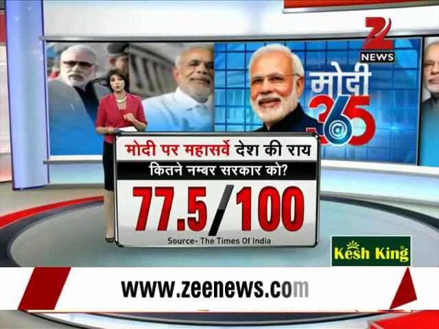 Watch: Zee Media mega survey on Modi govt
