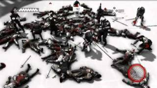 Assassin's Creed Brotherhood - Flawless All Weapons 213 Kill