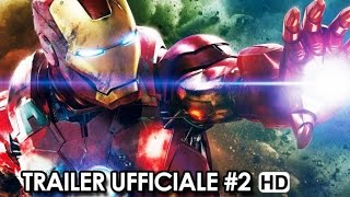 Avengers: Age of Ultron Trailer Ufficiale Italiano #2 (2015) Joss Whedon Movie HD