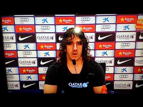 Carles Puyol deja el FCB