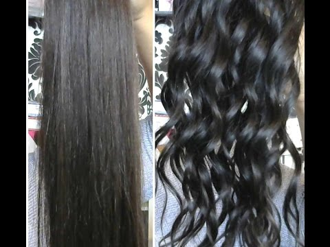 Nessa's Hair Extensions TUTORIAL: How to Boil Hair to add or change curl pattern
