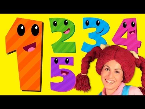 Los números y colores para niños