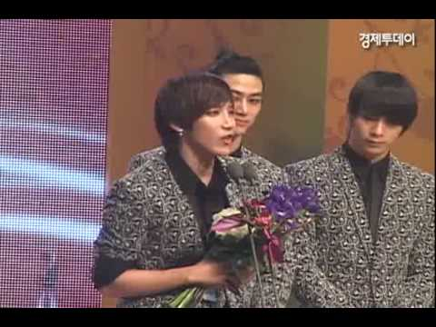 100115 2PM Economic News Asia Model Festival Awards