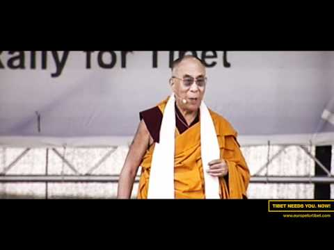 Europe for Tibet | His Holiness the Dalai Lama in Vienna