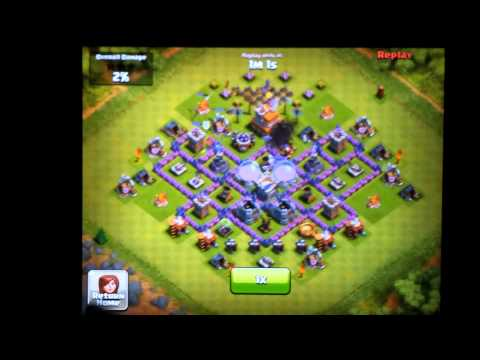 Clash of Clans Town Hall Level 7 Farming Defense Layout