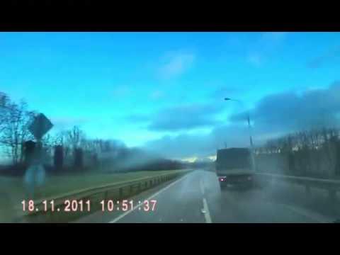 Подборка видео аварий, ДТП на видеорегистратор №11