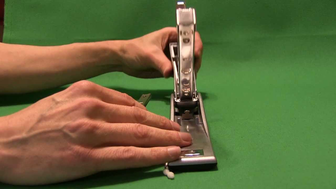Swingline Optima 878 Stapler Reassembly