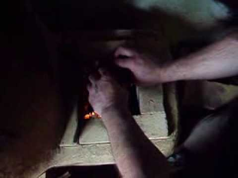 How to light a Rocket Stove
