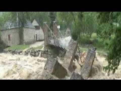 Desbordamiento del Río Garona 18 de Junio 2013