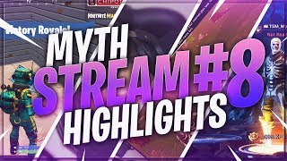 TSM Myth - Stream Highlights #8 (Fortnite Battle Royale)