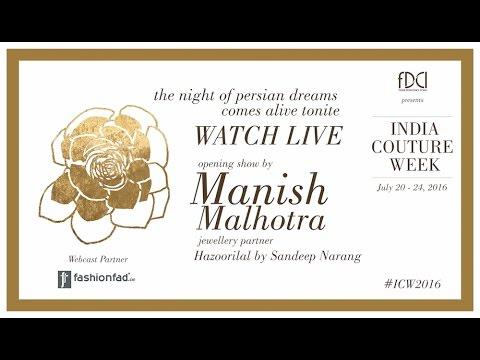 #ICW2016 Opening Show by Manish Malhotra