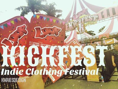KICKFEST Indie Cloth Festival Malang