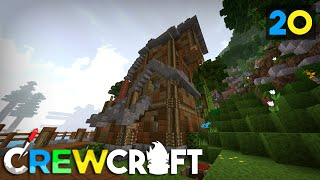 Crewcraft Minecraft Server :: Upstair Expansion! E20