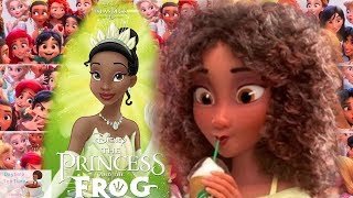 Disney CAUGHT LYING about why the BLACK Princess TIANA no longer has DARK SKIN in new Disney movie!