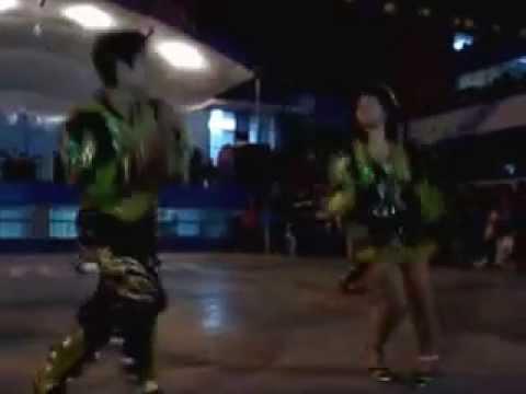 Wayñu Peru - Sambos De Corazon [Saya] Presentacion En El Colegio 3043 Ramon Castilla
