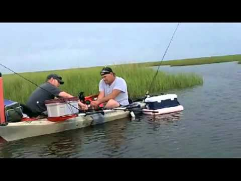 Kayak Fishing Shell Beach, LA