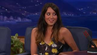 Download Song Aubrey Plaza - Best Moments In Talk Shows Free StafaMp3