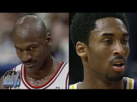 Throwback: Michael Jordan Vs Kobe Bryant Highlights (nba All-star Game 1998) video