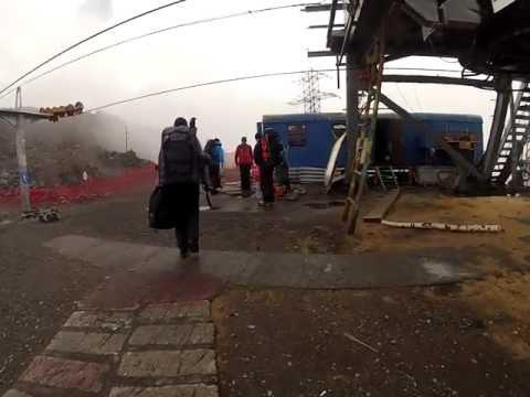 ELBRUS 2013 - 20130818 Arriving At Mir Skilift