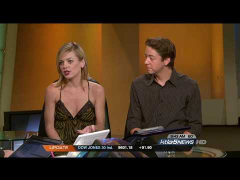 GH Bradford Anderson & Kirsten Storms on KTLA Morning News (HD)