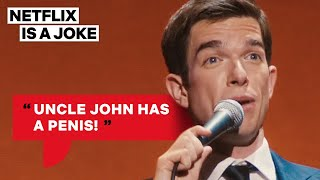 John Mulaney's Awkward Child Interaction | Netflix Is A Joke