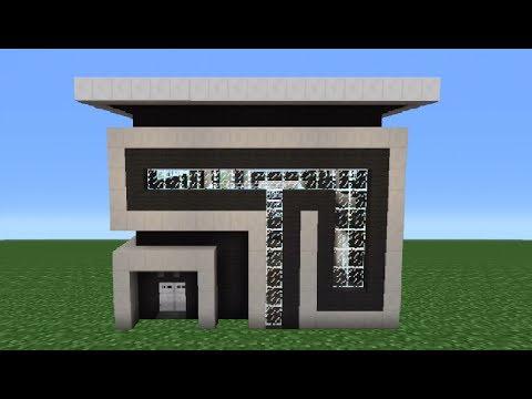 Minecraft Tutorial: How To Make A Quartz House - 1