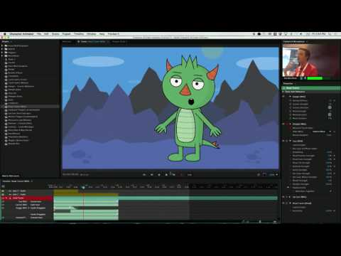 VidCon 2016: Bring 2D Characters to Life with Character Animator | Adobe Creative Cloud
