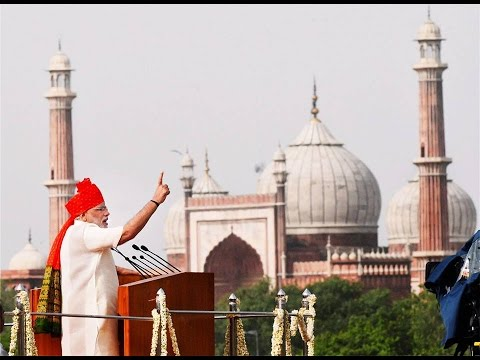 Prime Minister Narendra Modi's 68th Independence Day Speech- Full Speech