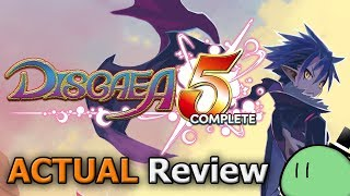 Disgaea 5 Complete (ACTUAL Game Review) [PC]