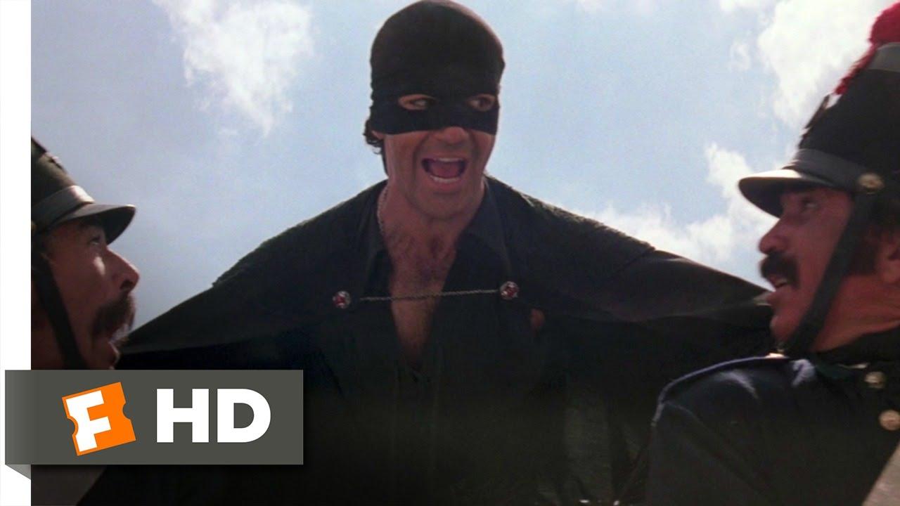 Zorro Antonio Banderas On Horse The Mask of Zorro  78  Movie