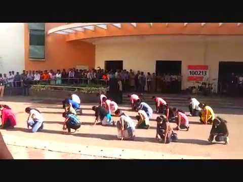 Flash Mob in TCS KOCHI.