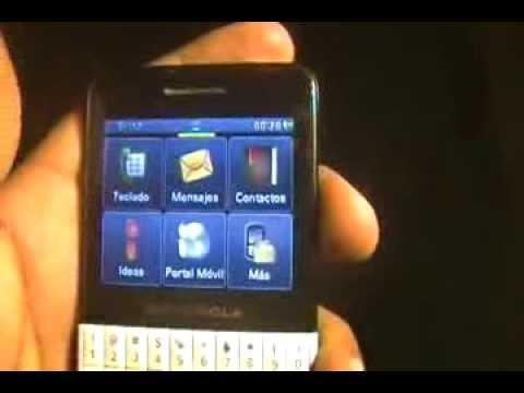 activar red DE teléfono motorola  EX118