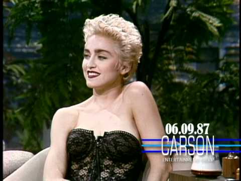 Madonna Flirts in Her 1st Talk Show Interview on Johnny Carson s Tonight Show 1987
