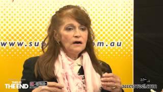 Supanova Perth 2013 Vlog 9 - Interview Margot Kidder
