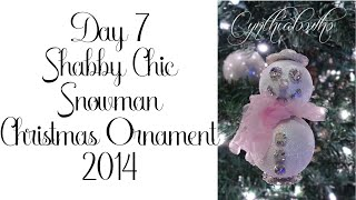 Day 7 of 10 Days of Christmas Ornaments with Cynthialoowho 2014!