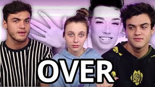 Sister Squad Canceled. The Dolan twins & Emma Chamberlain move on from James Charles