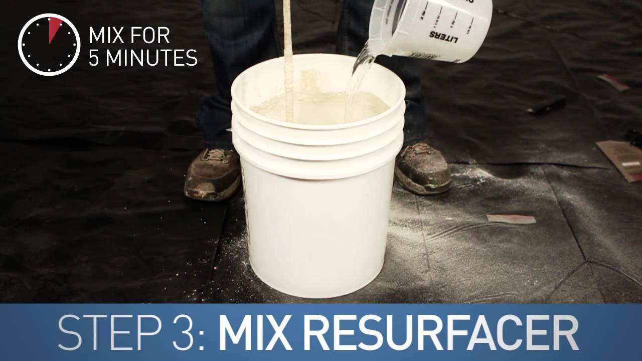 Vertical Concrete Resurfacing How to Resurface Concrete