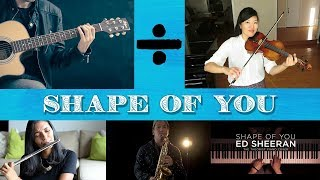 Top 5 Cover Musical Instrument Popular For Song -Shape Of You-