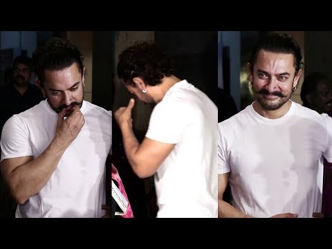 download lagu Aamir Khan Caught Crying In Public After Watching Secret gratis