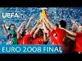 Spain v Germany: UEFA EURO 2008 final highlights