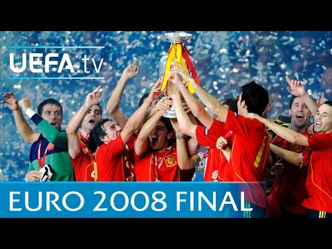 Spain v Germany: UEFA EURO 2008 final highlights