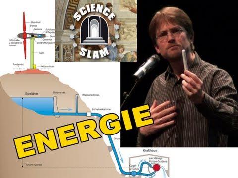 Energie - Wie verschwendet man etwas, das nicht weniger werden kann? (Science Slam)