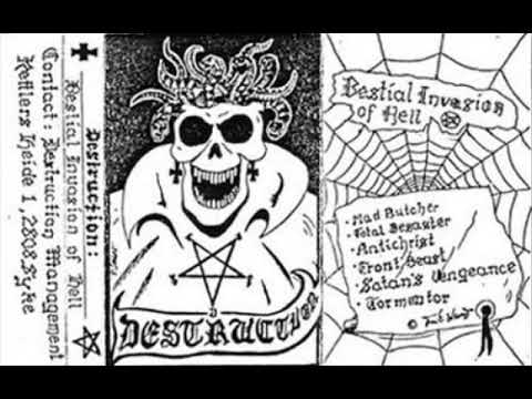 Destruction - Bestial Invasion Of Hell (EP) - 1984