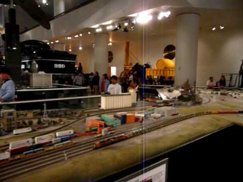 Giant HO Train Set in Chicago's Museum of Science and Industry