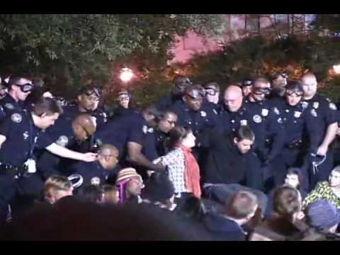 Police Arrest Occupy Atlanta - Part 1