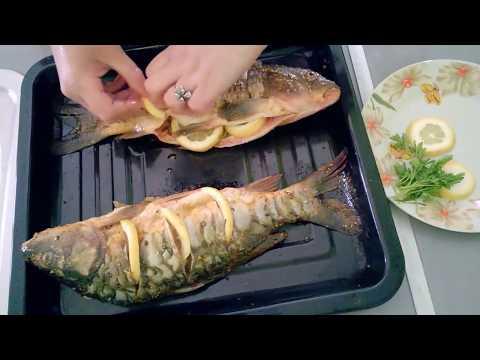 Рецепт Рыба с картошкой и морковью в духовке/Быстрый и простой рецепт.