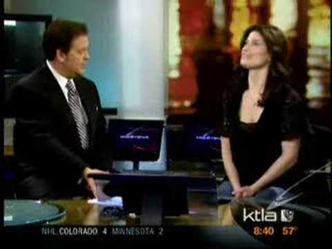 Idina at a news show!